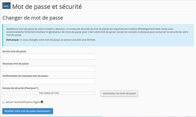 cpanel_mot_de_passe
