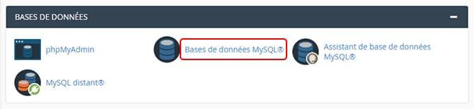 Databases_cpanel