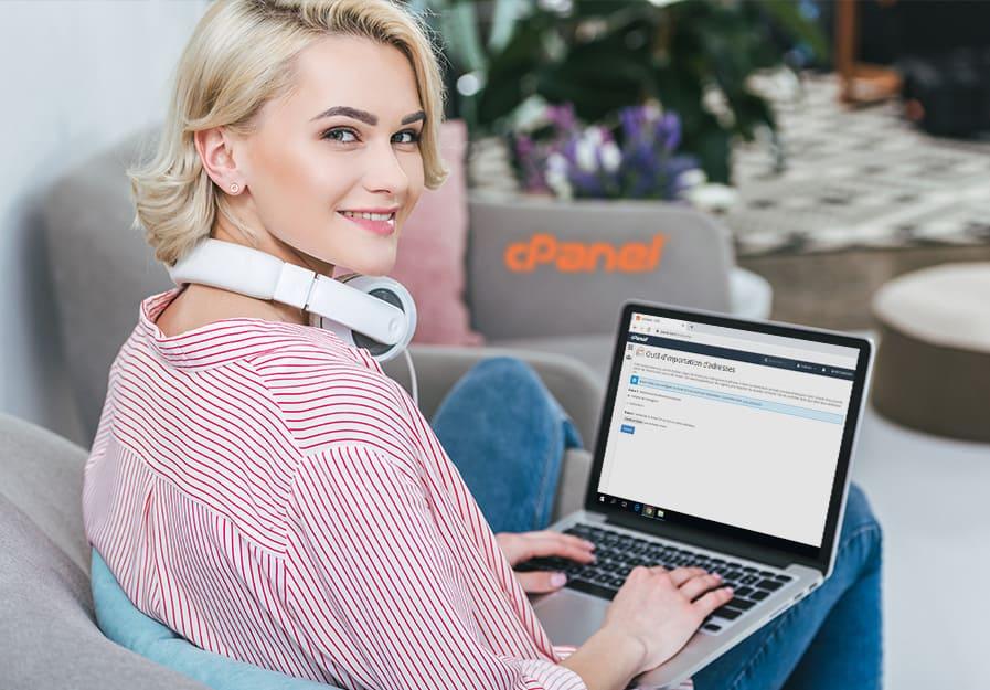 Comment importer ses adresses mail via cPanel