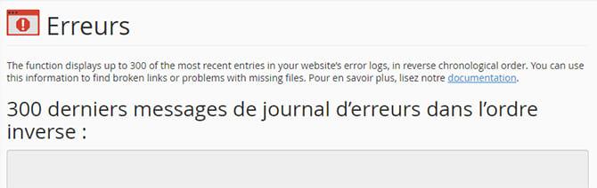 Erreurs_de_site_cpanel