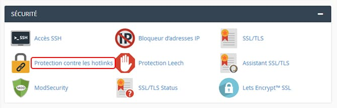 Sécurité_Protection_Hotlink
